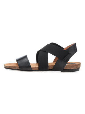 ELASTIC CROSS SANDALS