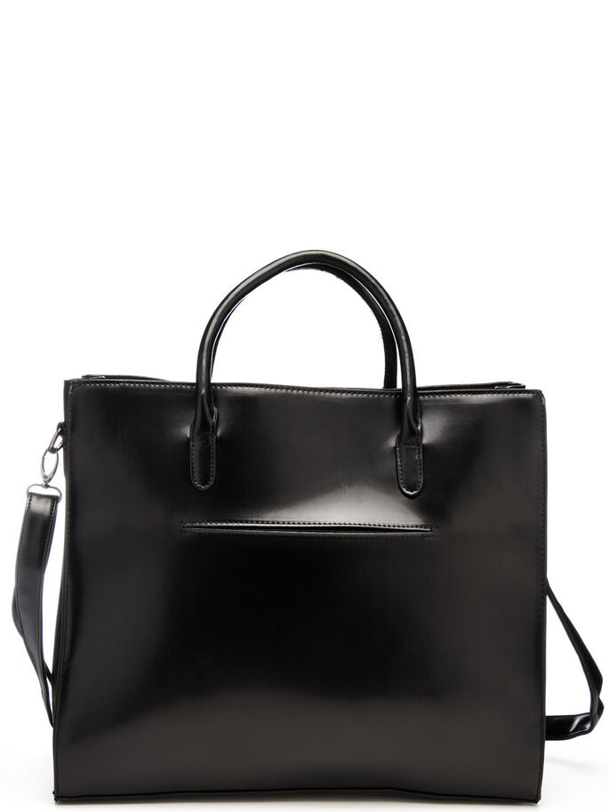 POLIDO GLANZ- TASCHE, Black, large