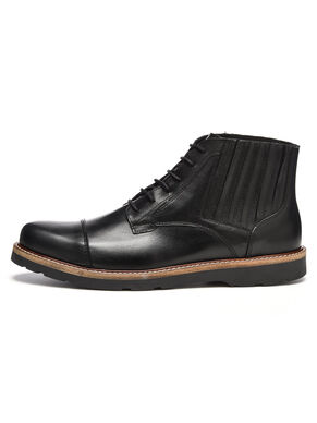 MEN'S PANEL LACED UP BOOTS