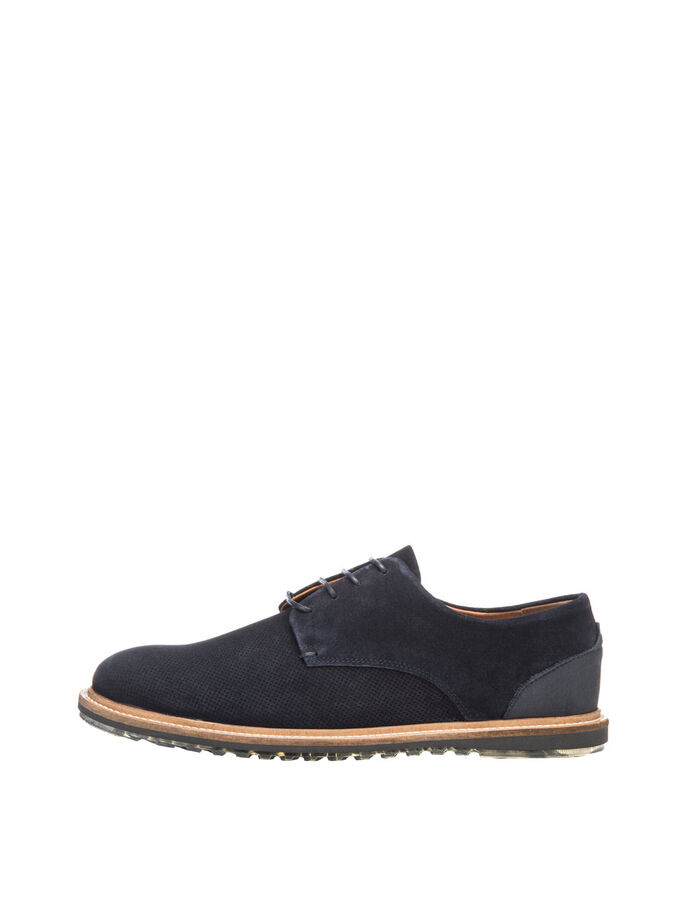 DERBIES WAVE HOMME CHAUSSURES DERBY, Navy Blue, large