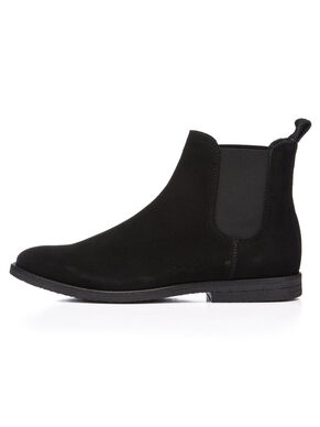 CASUAL SUEDE CHELSEA BOOTS