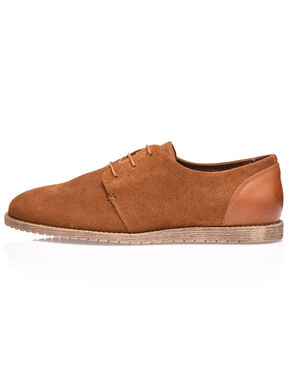 MEN'S LACED SUEDE DERBY SHOES