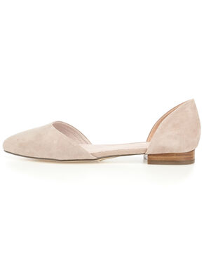 OPEN LOAFER BALLERINAS