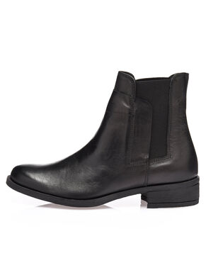 HALF COVERED CHELSEA BOOTS