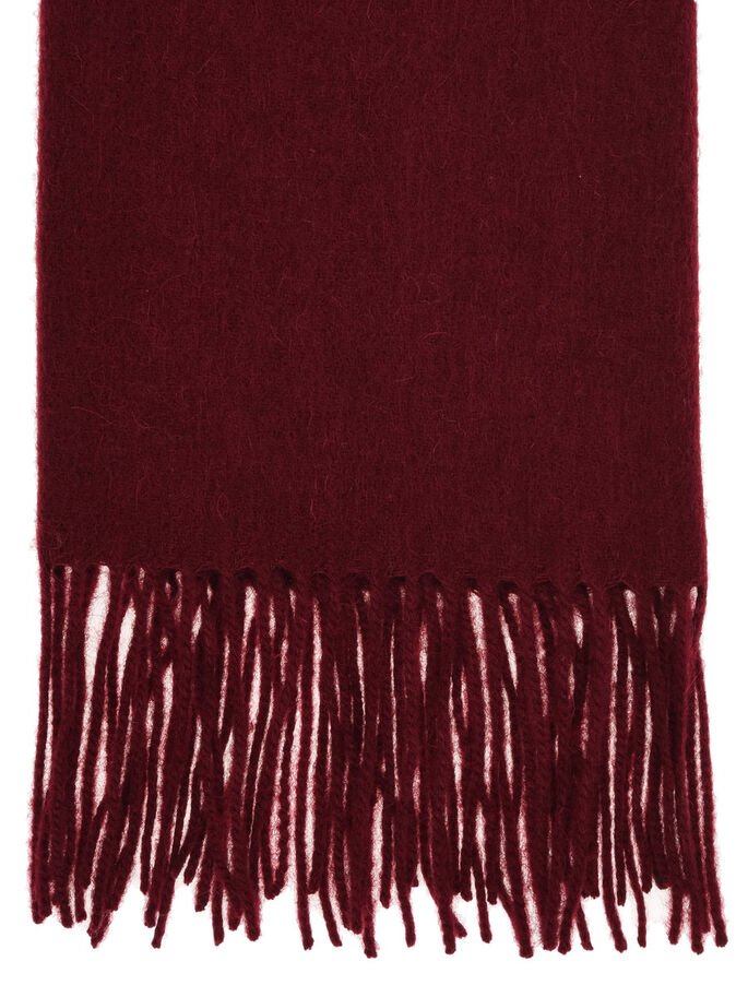 CBE PLEASANT THRILL SCHAL, Winered, large