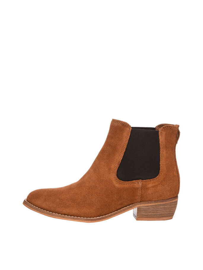 SUEDE CHELSEA BOOTS, Light Brown, large