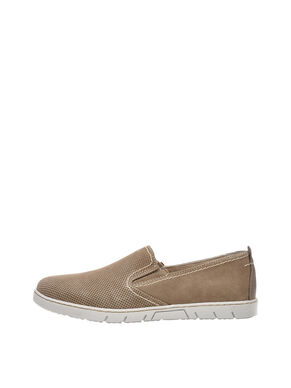 SUEDE FLEX LOAFERS