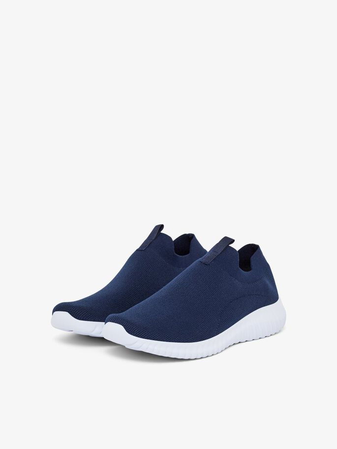 BIACECE KNIT SNEAKERS, NavyBlue5, large