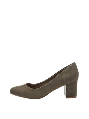 BLOK HEEL PUMPS