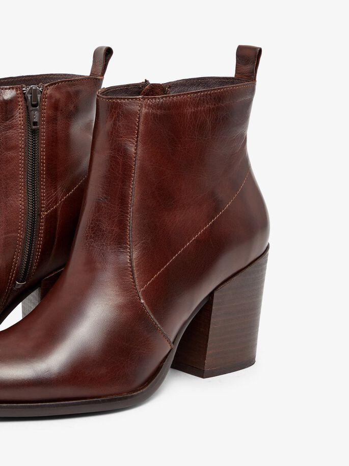 BIADELMA ANKLE BOOTS, DarkBrown, large
