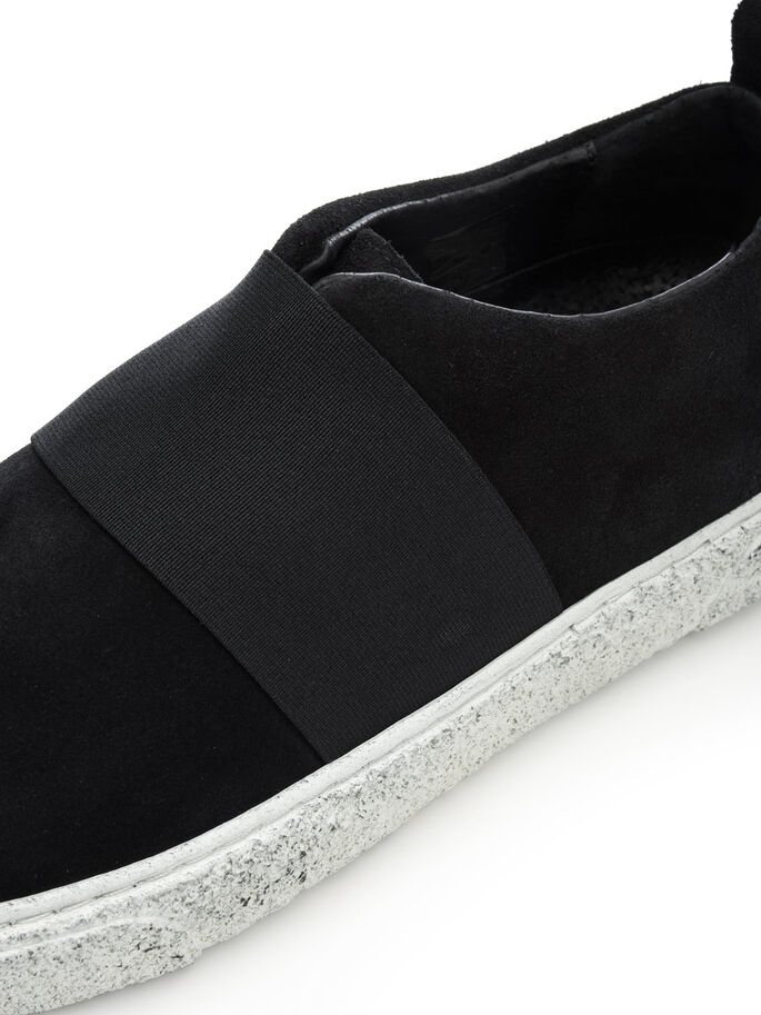 SPORTY SLIP-ONS, Black, large