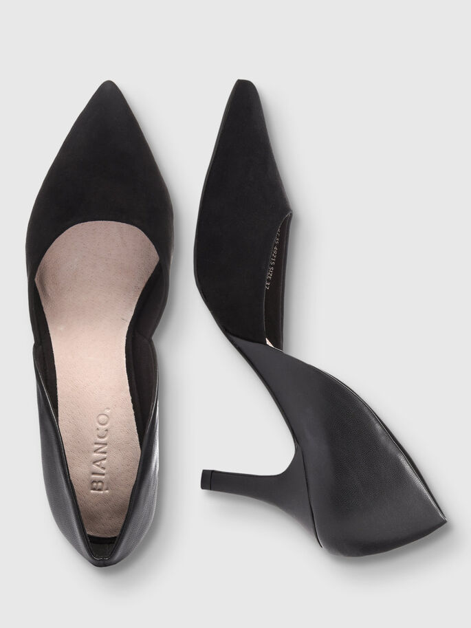 BASIC SPLIT PUMPS, Black, large