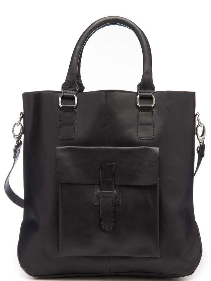 LEREN TAS, Black, large