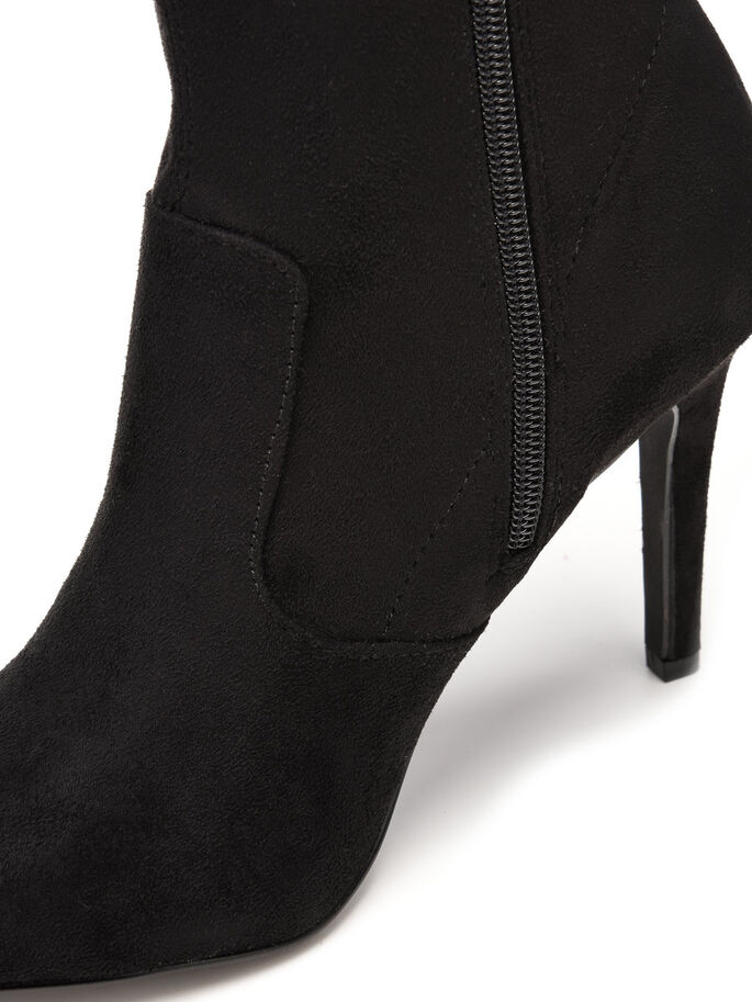 OVERKNEE STRETCH BOOTS, Black, large