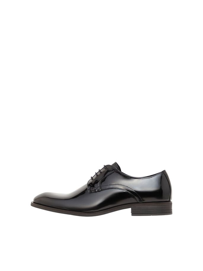 BIABYRON PATENT CHAUSSURES DERBY, Black3, large