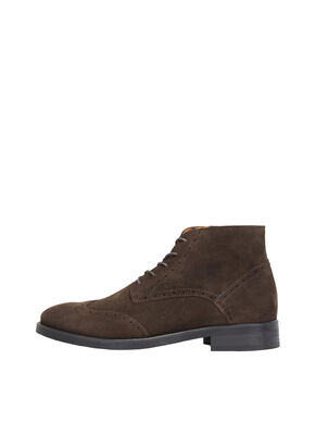 MEN'S BROGUE DRESS BOOTS