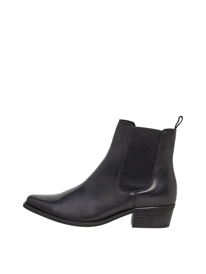 BIACOCO WESTERN BOOTS, Black, large