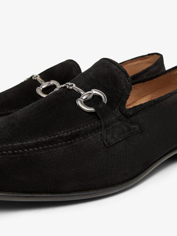 BIABAIR SUEDE LOAFERS, Black1, large