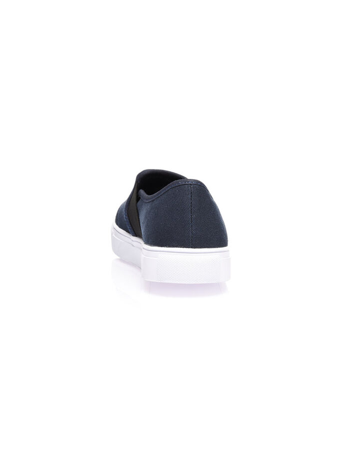 MEN'S LOAFER SLIP-ONS, Navy Blue, large