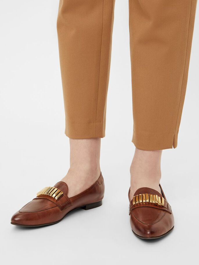 BIADUSTY LOAFERS, Cognac, large
