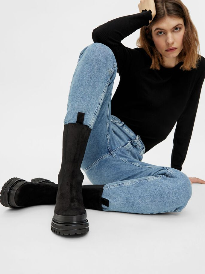 BIADICY LONG BOOTS, Black1, large