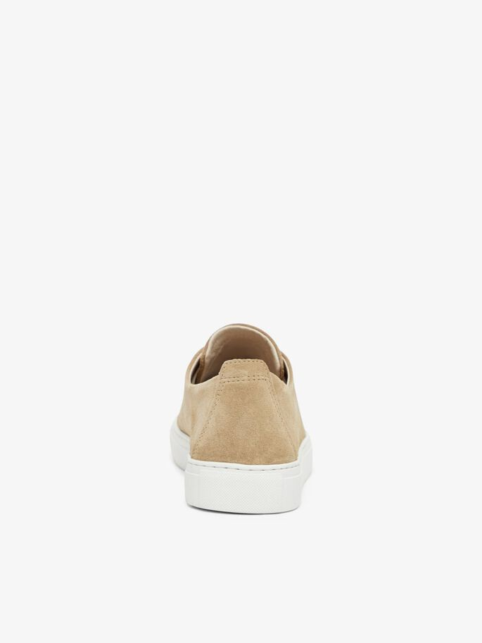 BIAAJAY LEATHER SNEAKERS, Sand1, large