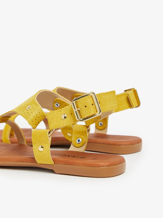 BIAVERONA SANDALS, Yellow1, large