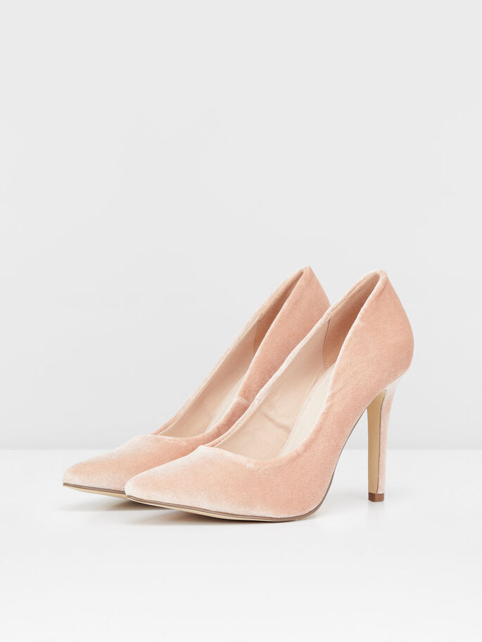 GLITZER-PARTY- PUMPS, Rose, large