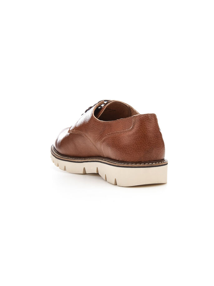 RUTSCHHEMMENDE DERBY-SCHUHE, Light Brown, large