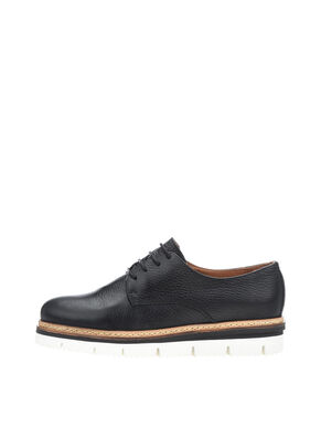 CLEAVED LACE-UP- DERBY-SCHUHE