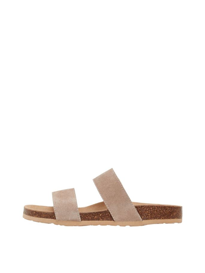 BIABETRICIA TWIN STRAP SANDALS, Sand1, large