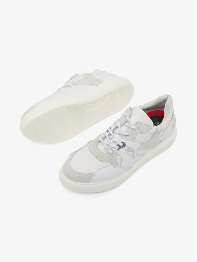 BIAKING SPORTS SHOES, White, large