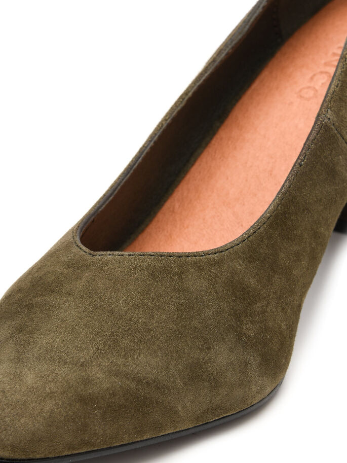 GESLOTEN PUMPS, Army Green, large