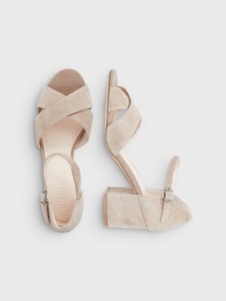 BIACATE CROSS SANDALS