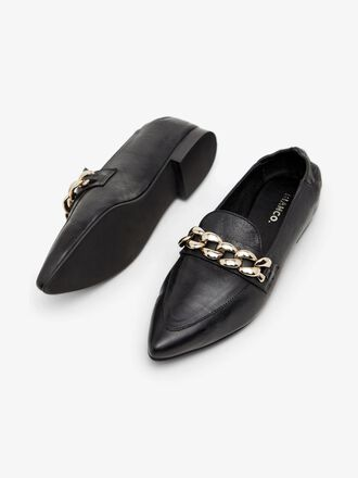 BIATRACEY LEATHER LOAFERS
