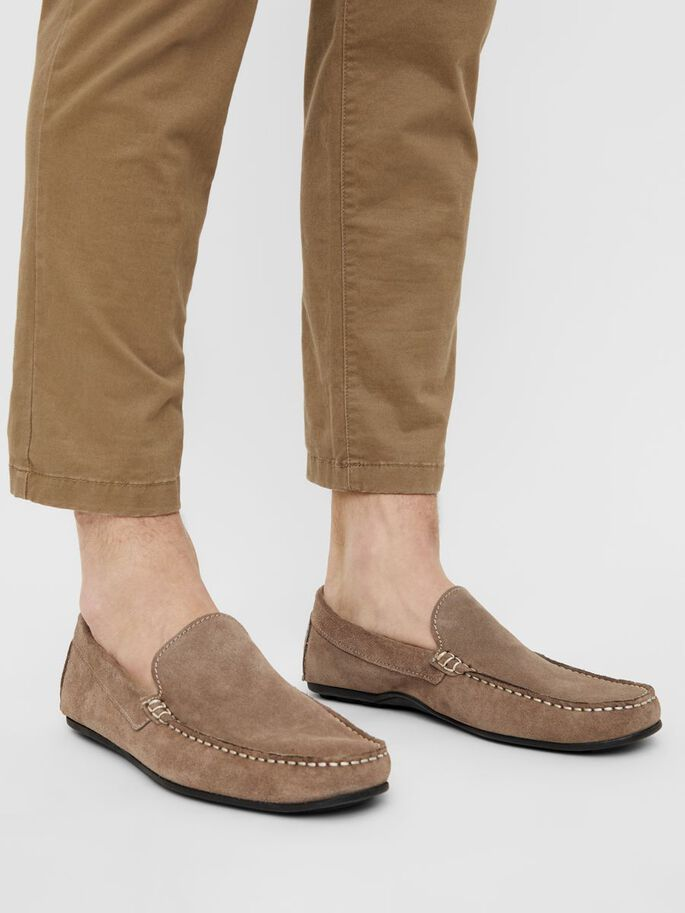 BIADALY LOAFERS, Nougat1, large
