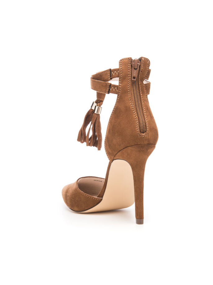 TASSEL STILETTO, Light Brown, large