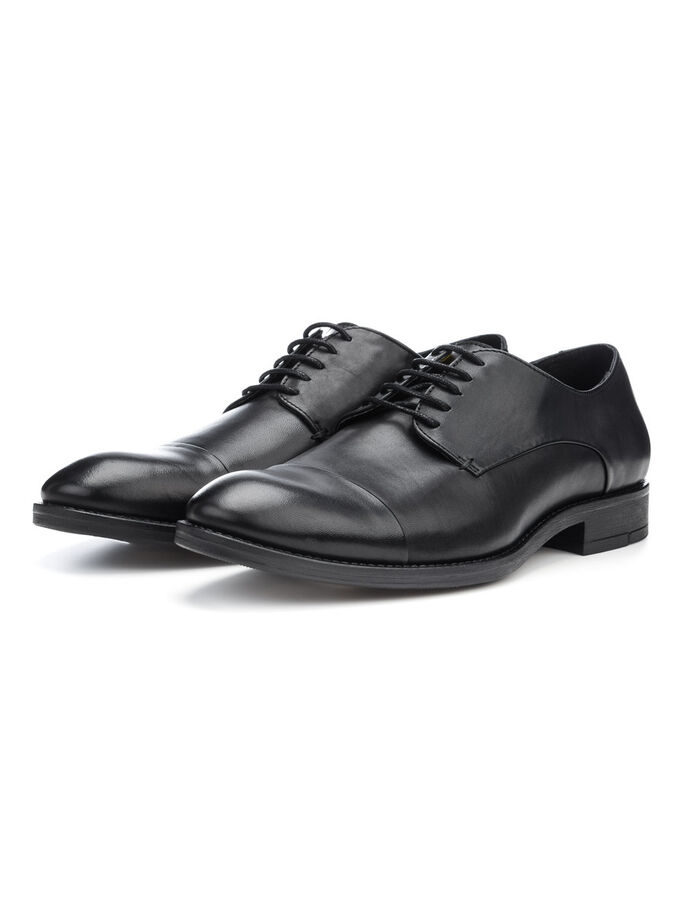 MEN'S CLASSIC DERBY SHOES, Black, large