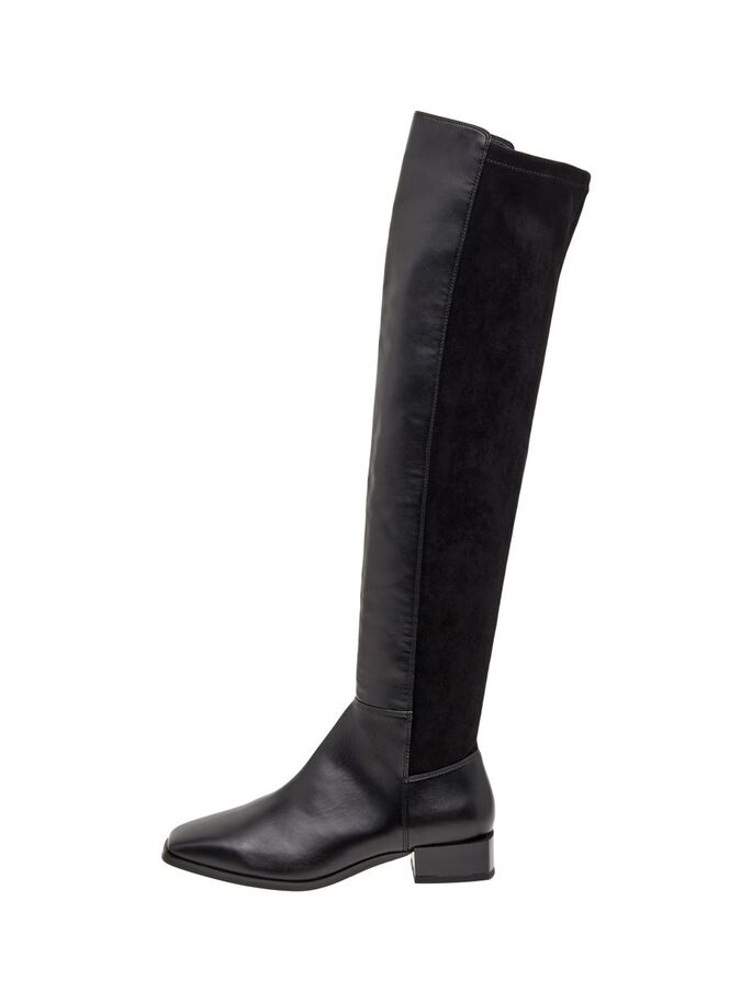 BIADIANA KNEE-HIGH BOOTS, Black1, large