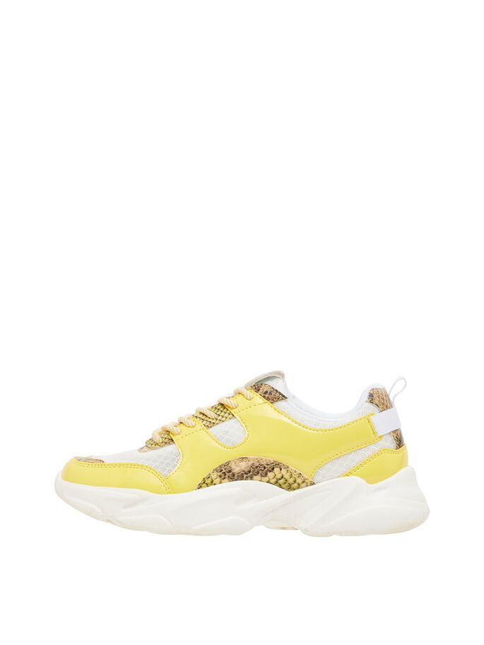 BIACASE SNEAKERS, Yellow, large