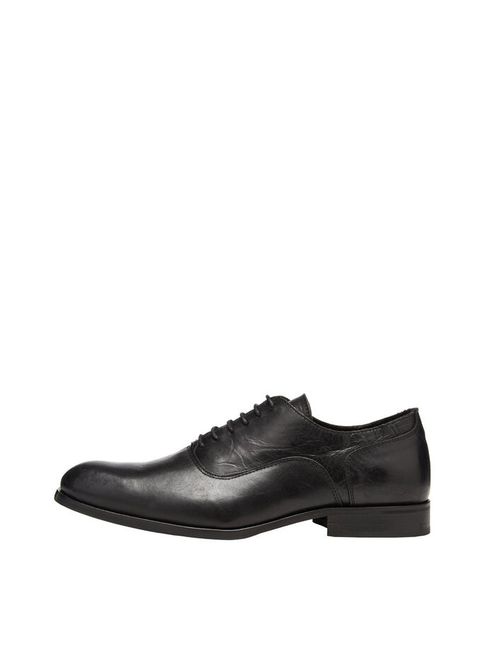 MEN'S DRESS SHOES, Black, large
