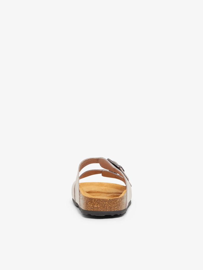BIABETRICIA BUCKLE SANDALS, Natural, large