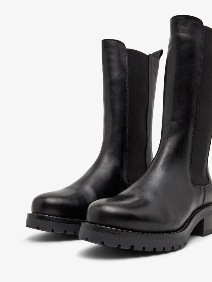 BIACORAL LONG WINTER BOOTS, Black, large