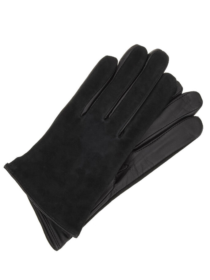 CBE DOUBLE FACETS GLOVES, Black, large