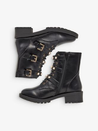 BIAPEARL BIKER WIDE FIT BOOTS