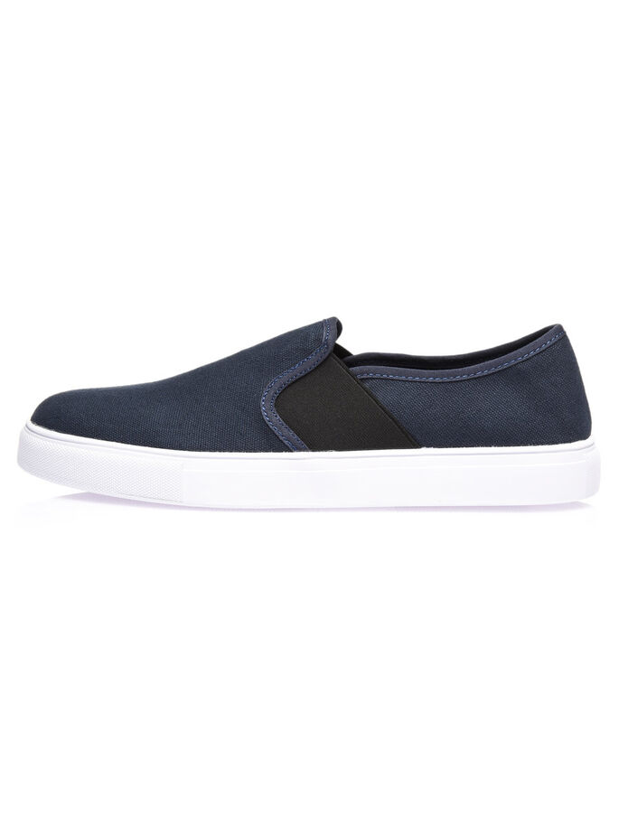 HALB- SLIP-ONS, Navy Blue, large