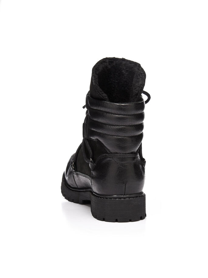 WARM NORDIC BOOTS, Black, large