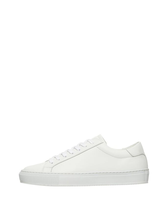 BIADIA VEGAN TRAINERS, White, large