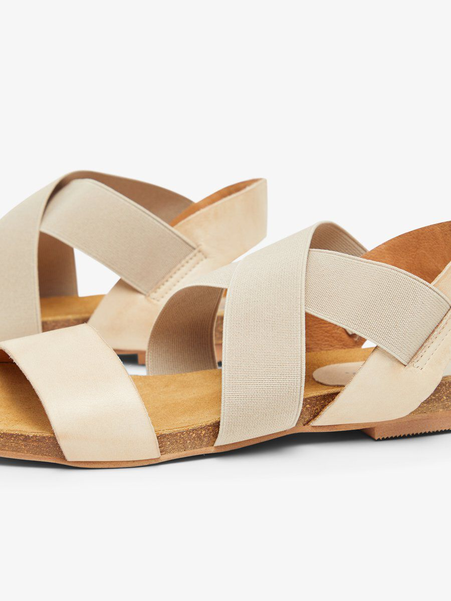 BIACALLIE Leather Sandal