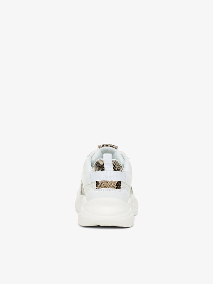 BIACASE TRAINERS, White, large